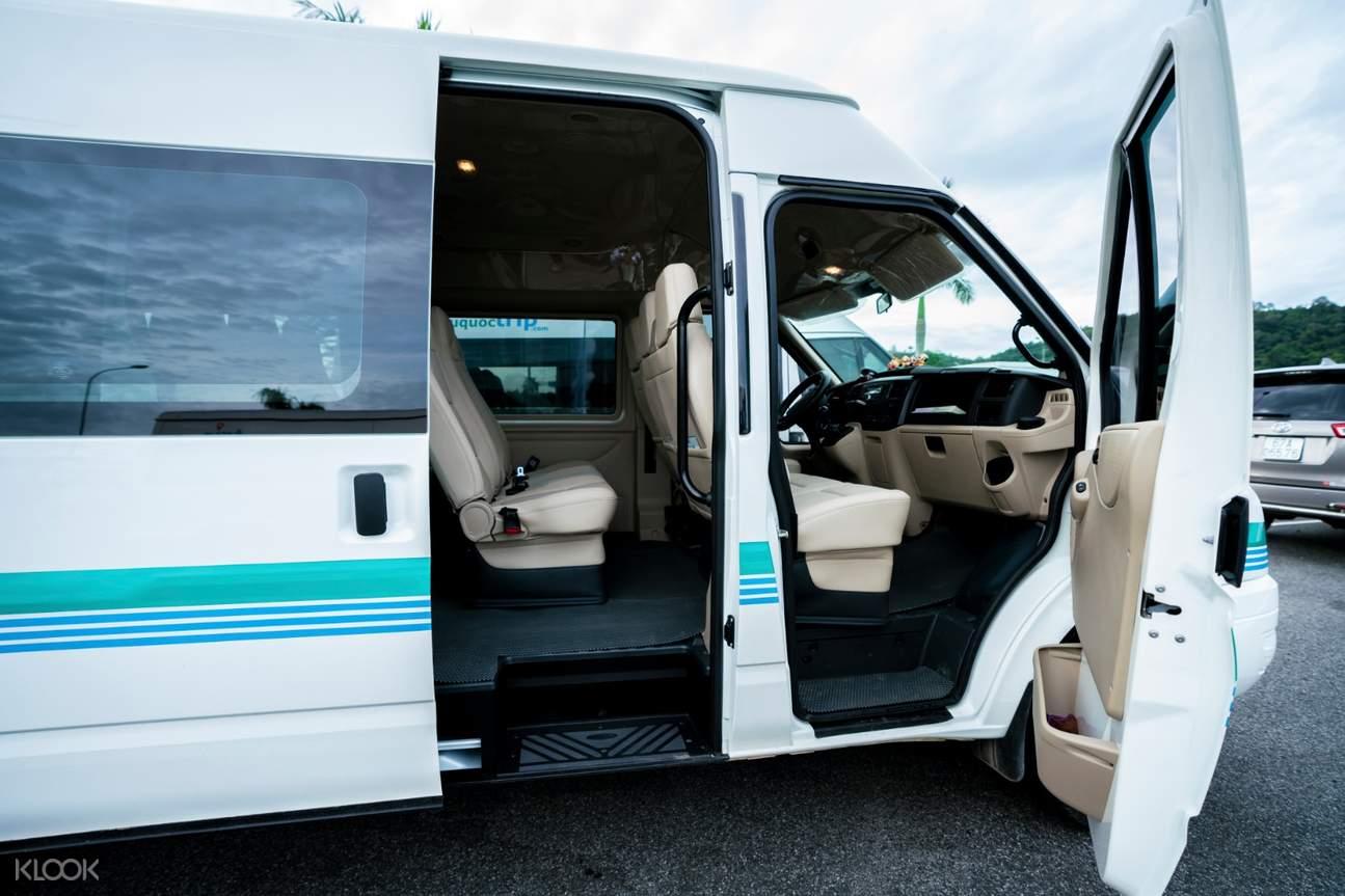 Or 16-seater van
